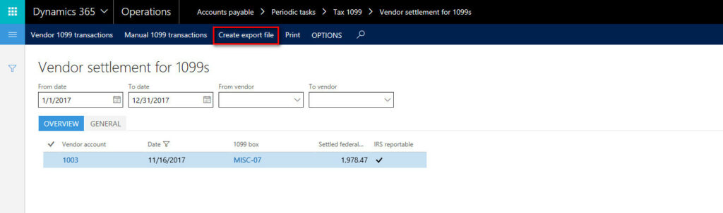 How To Set Up 1099s In Microsoft Dynamics Ax Or D365 In The Know